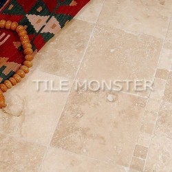Lydia Antique Travertine Tumbled